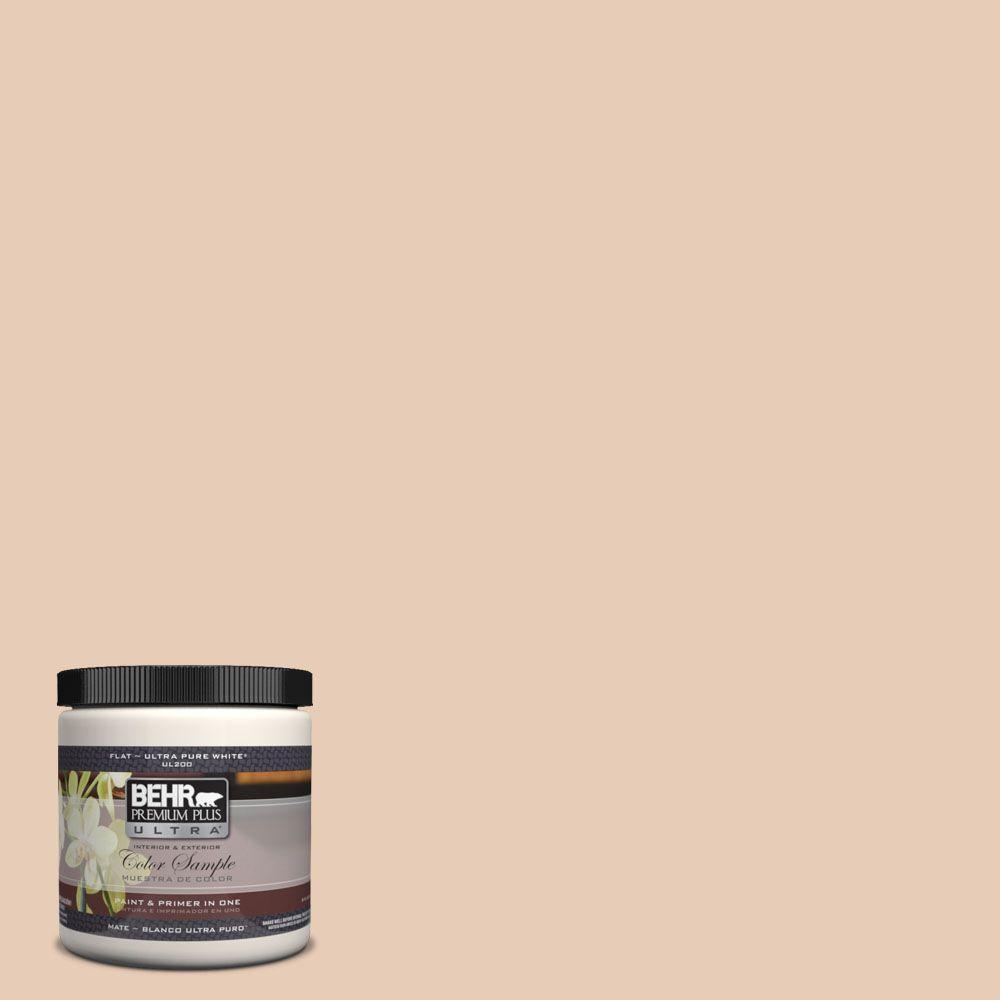 BEHR Premium Plus Ultra 8 oz. #UL130-10 Venetian Mask Interior/Exterior Paint Sample