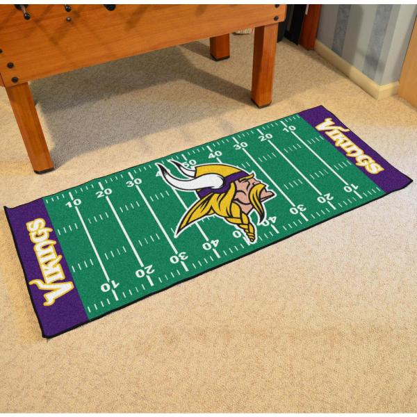 Football Field Runner Rug