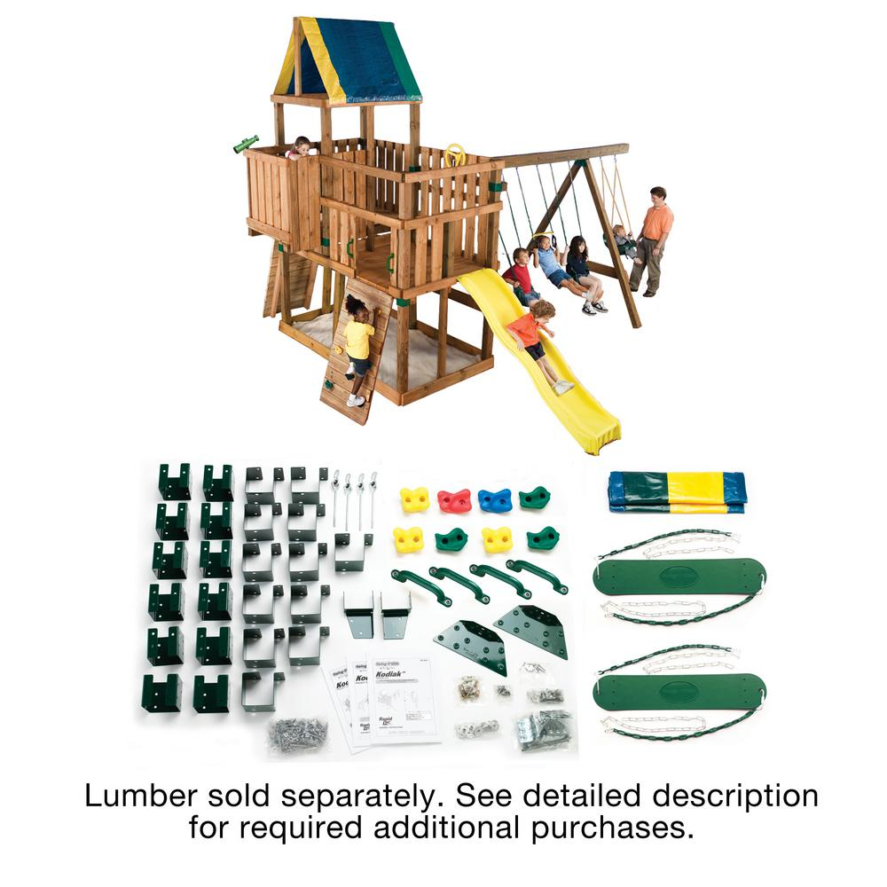 Swing-N-Slide Playsets Do-It-Yourself Kodiak Custom Playset
