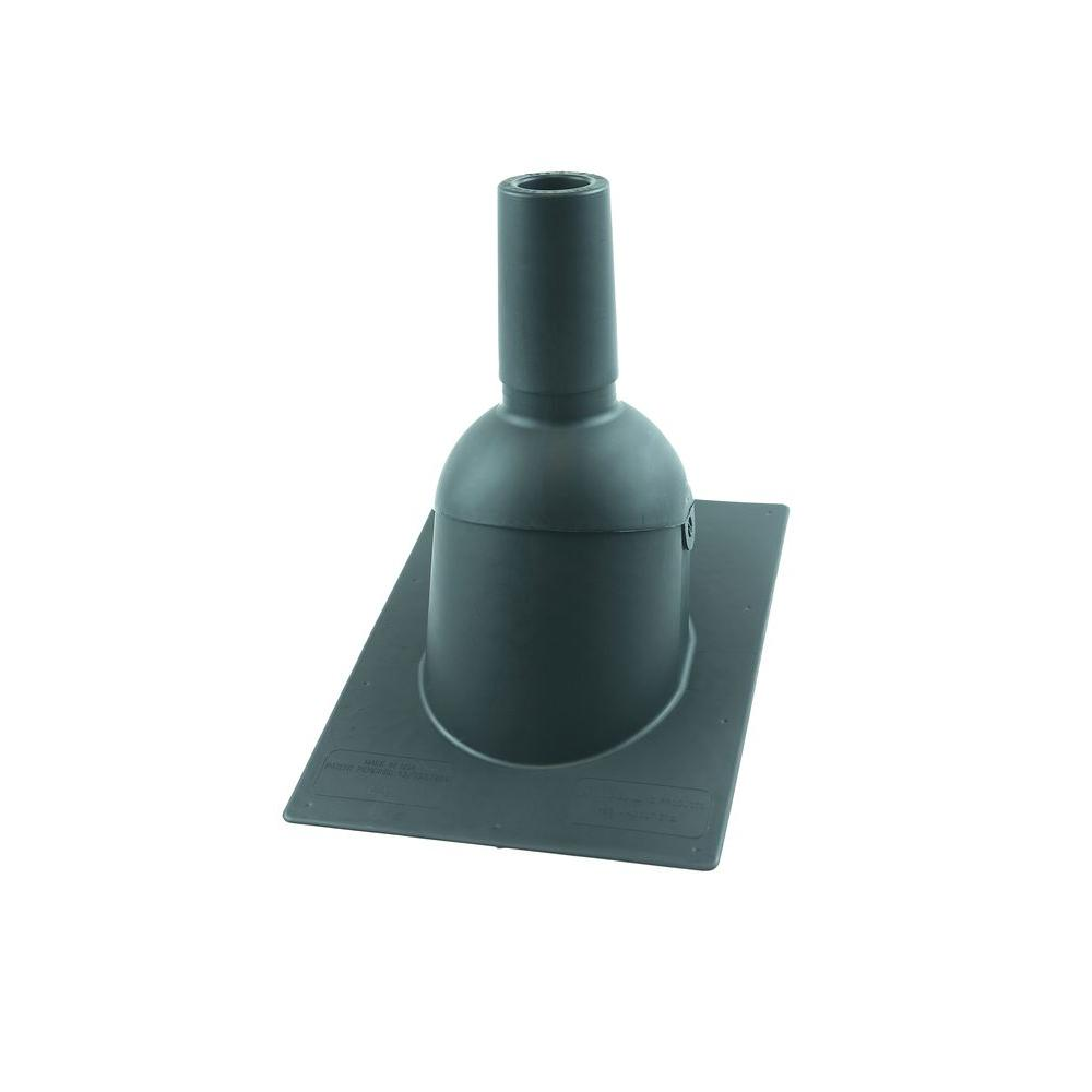 Perma-Boot Pipe Boot for 2 in. I.D. Vent Pipe Slate Grey color New Construction/Reroof