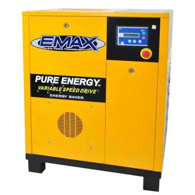 Premium Series 7.5 HP 230-Volt 3-Phase Variable Speed Rotary Screw Compressor
