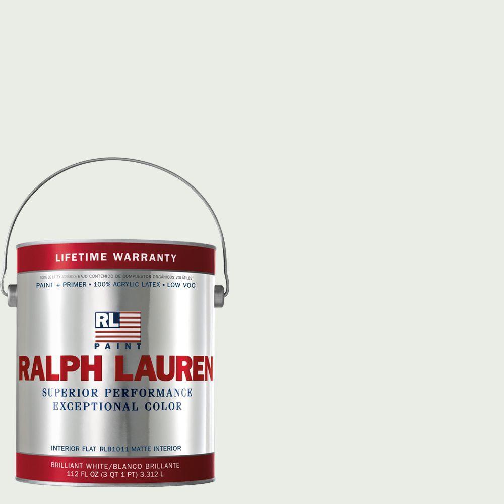 Ralph Lauren 1-gal. Polo Mallet White Flat Interior Paint
