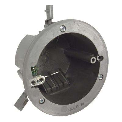 3-1/2 in. Round Non-Metallic Cable Box, 2-11/16 in. Deep (100-Pack)