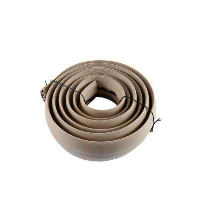 10 ft. Tan PVC Cord Cover
