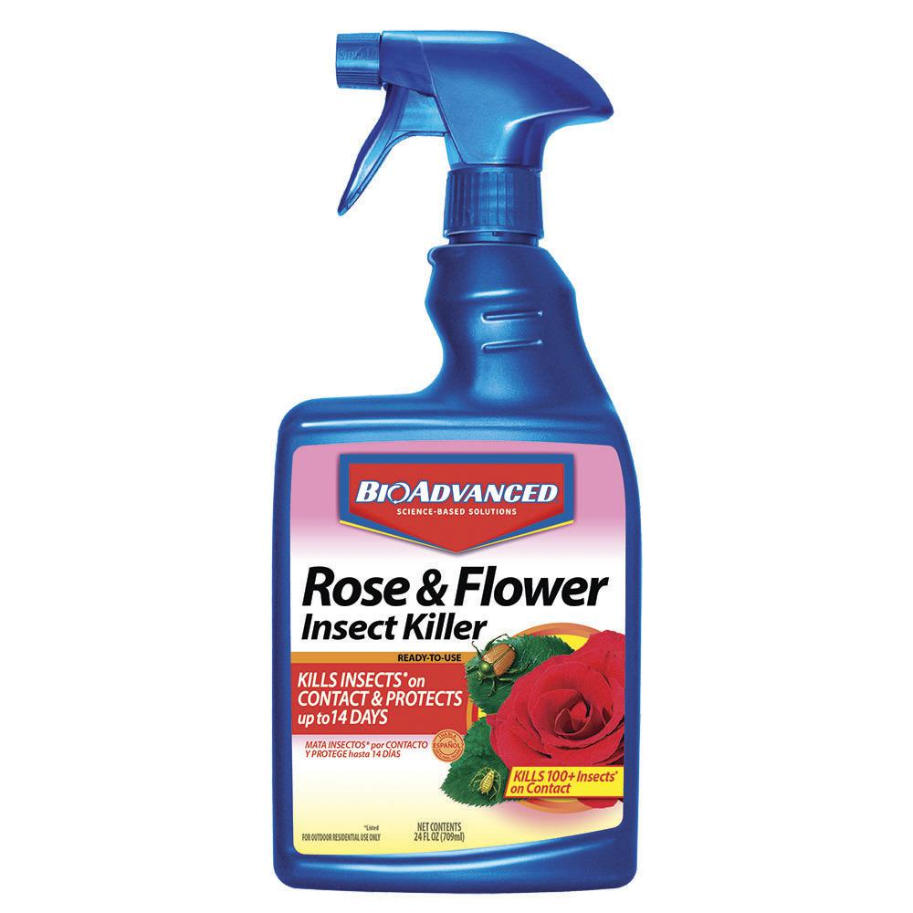 BioAdvanced BioAdvanced 24 oz. Ready-to-Use Rose and Flower Insect Killer