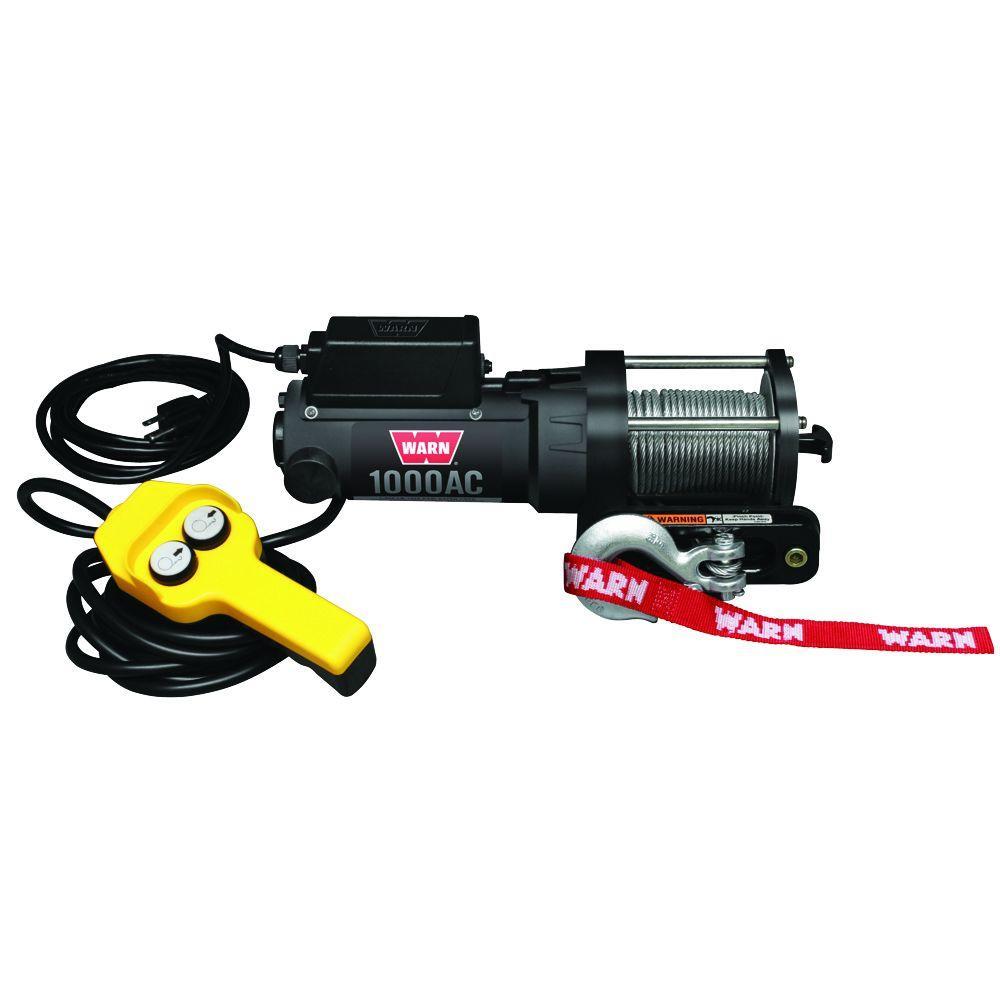 1000 lbs. 120-Volt AC Utility Winch