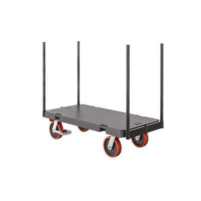 1000 lb. 24 x 48 Resin Stanchion Cart