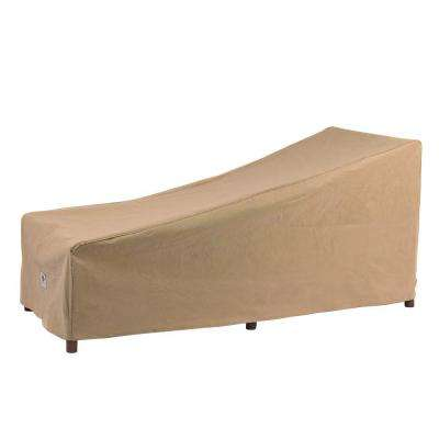 Essential 74 in. L Patio Chaise Lounge Cover