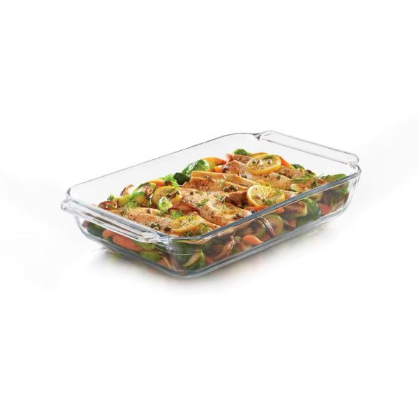 Libbey Baker's Premium 9-inch by 13-inch Glass Bake Dish 57022