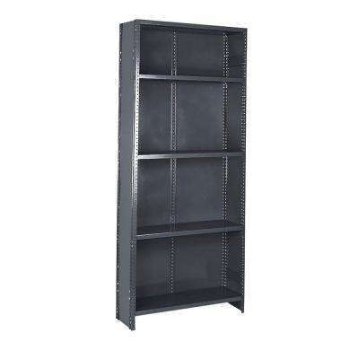 36 in. W x 75 in. H x 18 in. D Steel Commercial Shelving Unit