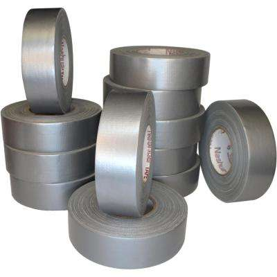 1.89 in. x 60 yd. 357 Ultra Premium Duct Tape Silver Pro Pack (12-Pack)