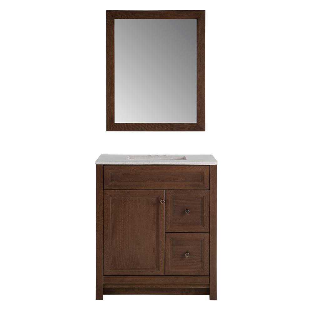 Home Decorators Collection Brinkhill 30.5 in. W Vanity in ...