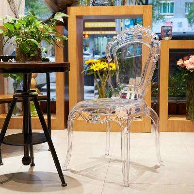 Gittel Clear Side Chair Dining (Set of 2)