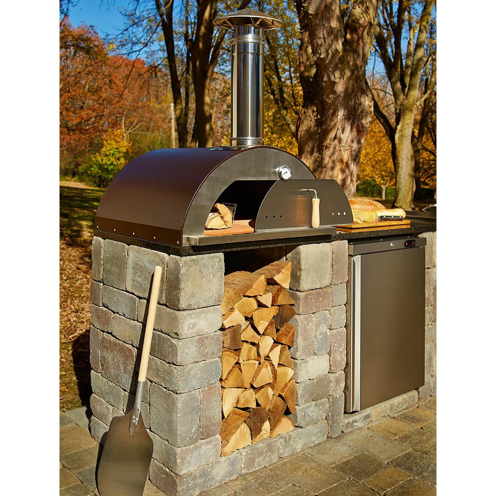 Necessories Nonno Peppe 32 In Wood Burning Outdoor Pizza Oven In
