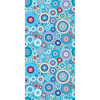 Concentric Bubbles by Raygun Removable Wallpaper Panel