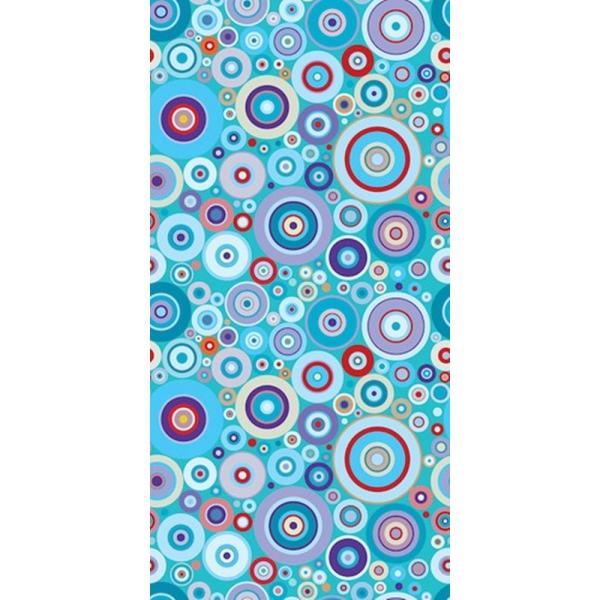 CGSignLab Concentric Bubbles by Raygun Removable Wallpaper Panel 2416409_wlp_24x48
