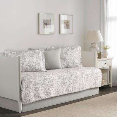 Amberley 5-Piece Beige Daybed Set
