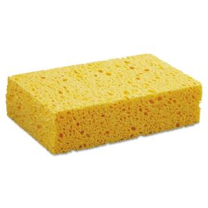 Boardwalk Medium Cellulose Sponge, 3 2/3 x 6 2/25 in., 1.55 inch Thick, Yellow,... by Boardwalk