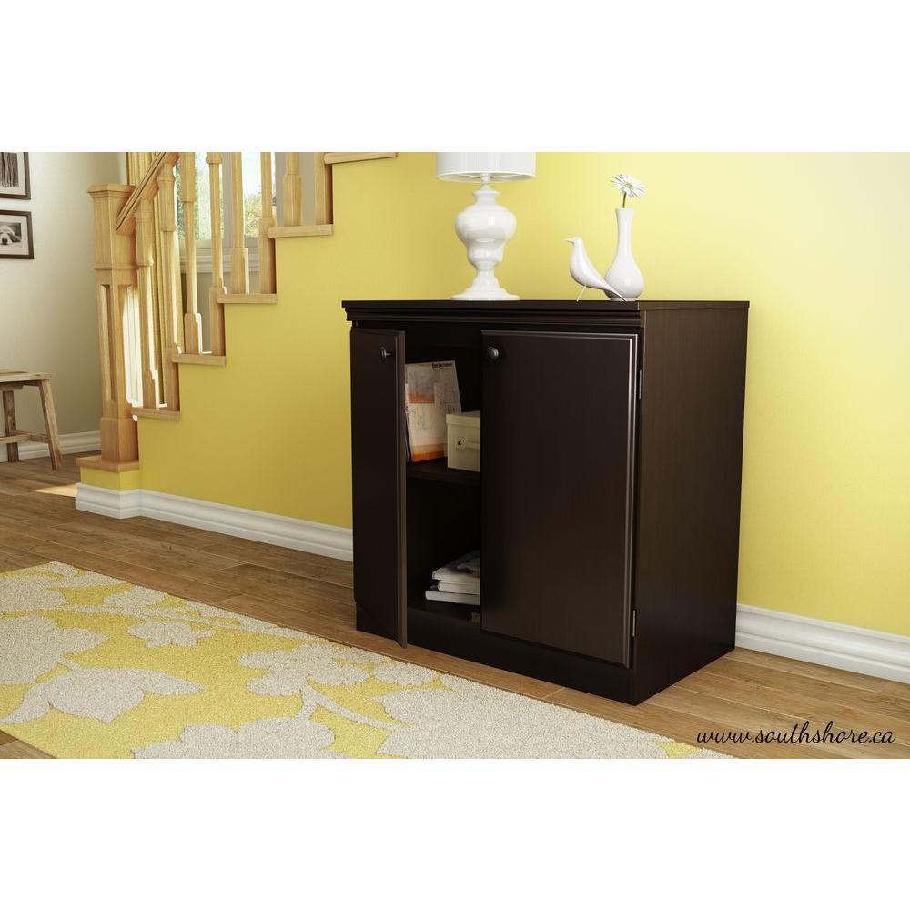 Morgan Chocolate Storage Cabinet