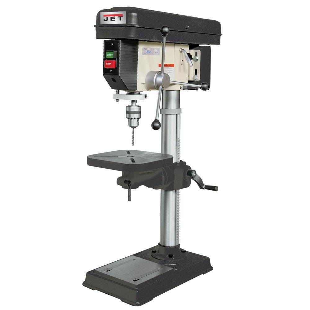 how to change speed on a drill press