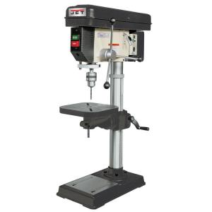Click here to buy JET 3/4 HP 15 inch Benchtop Drill Press with Worklight, 16-Speed, 115-Volt, J-2530 by JET.