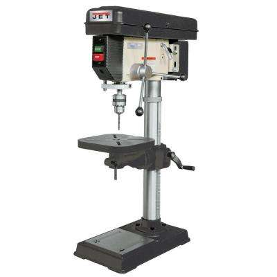 3/4 HP 15 in. Benchtop Drill Press with Worklight, 16-Speed, 115-Volt, J-2530