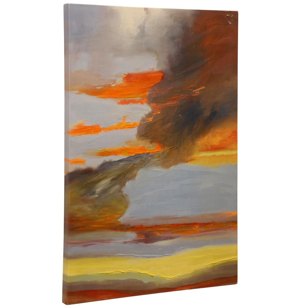 StyleCraft Oxidized Skies III Multicolored Canvas Wall Art was $99.99 now $33.52 (66.0% off)