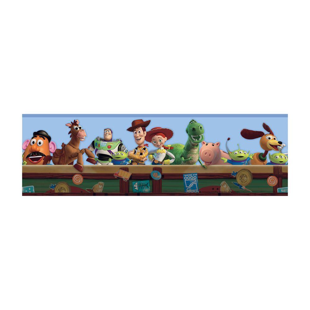 York Wallcoverings Disney Kids Toy Story Wallpaper Border DK5800BD