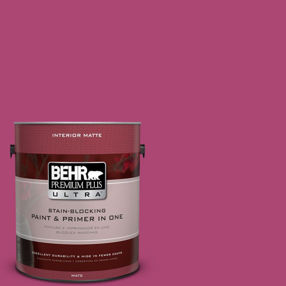 Superior #100B 7 Hot Pink Matte Interior Paint
