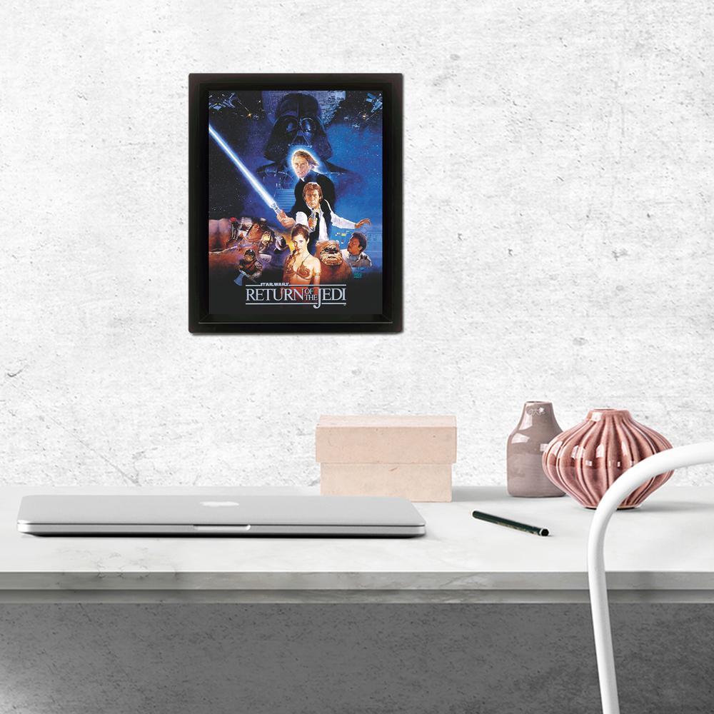 """""""Star Wars - Return of the Jedi - One Sheet"""" Wall Art"""