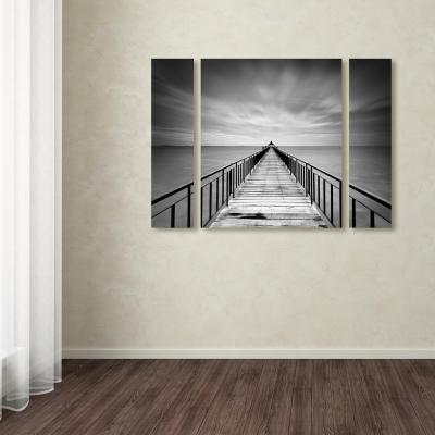 """30 in. x 41 in. """"Withstand"""" by Michael de Guzman Printed Canvas Wall Art"""