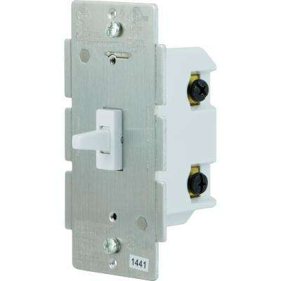 Z-Wave In-Wall Smart Switch Toggle, White
