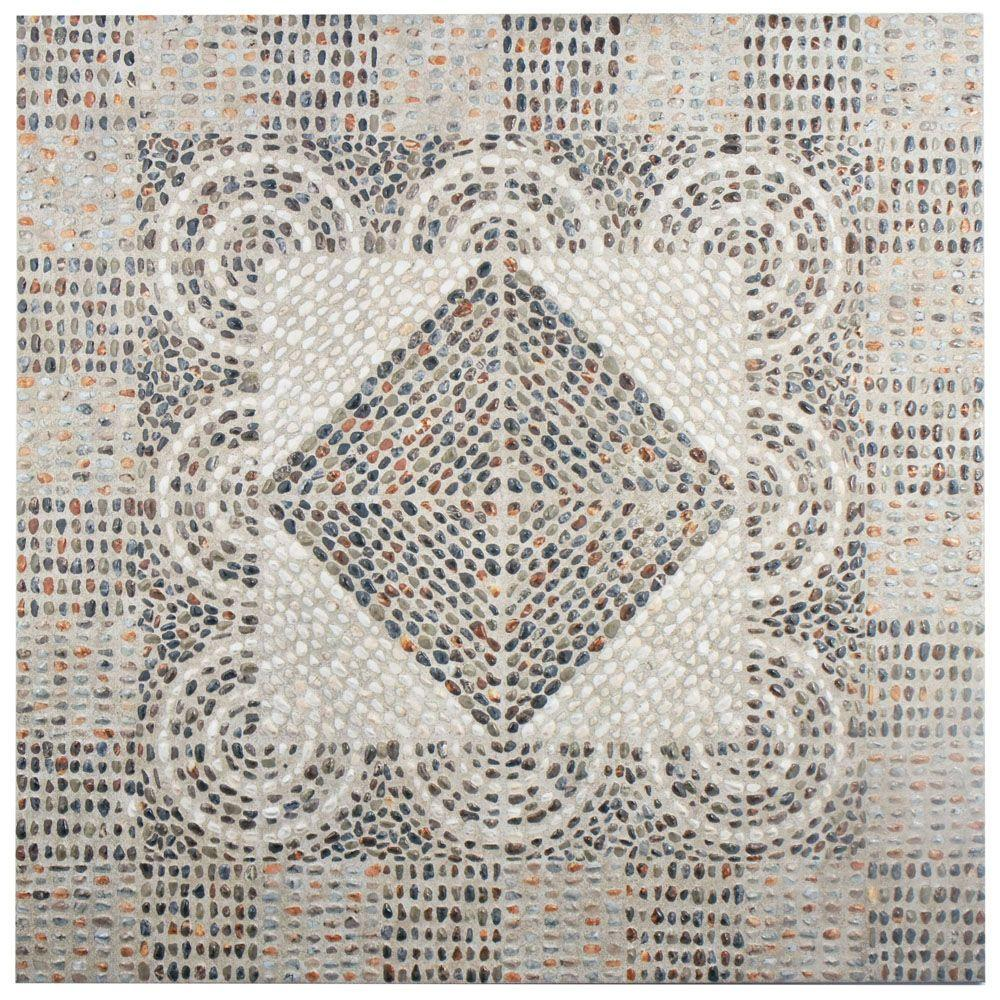 Merola Tile Roma 20-1/4 in. x 20-1/4 in. Ceramic Floor and Wall Tile (20.4 sq. ft. / case)