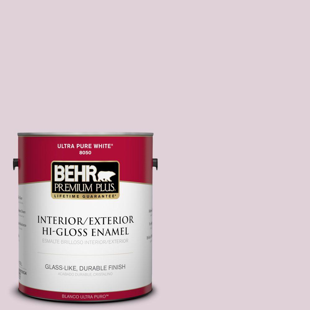 1-gal. #690E-2 Heather Rose Hi-Gloss Enamel Interior/Exterior Paint