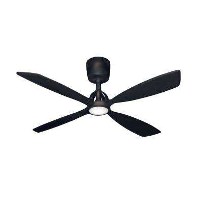 Ninja 56 in. Oil Rubbed Bronze Ceiling Fan with LED Light