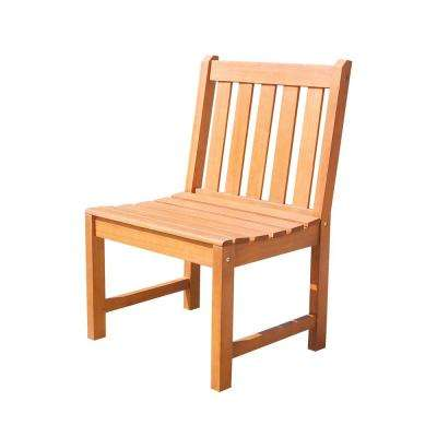 Malibu Armless Patio Dining Chair