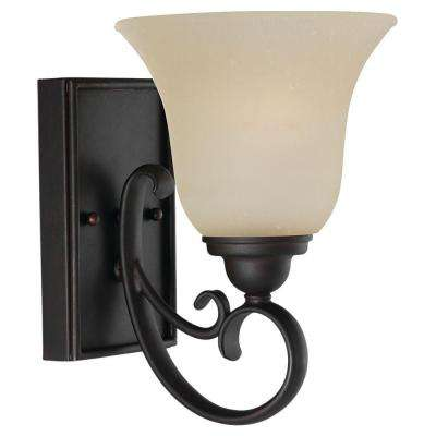 Del Prato 1-Light Chestnut Bronze Sconce