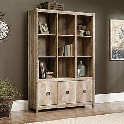 Cannery Bridge Lintel Oak Storage Open Bookcase