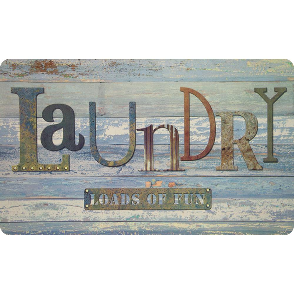 Apache Mills Rustic Laundry 20 In. X 36 In. Foam Mat