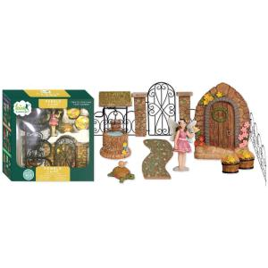Arcadia Garden Products Rustic Retreat Polyresin Fairy ...
