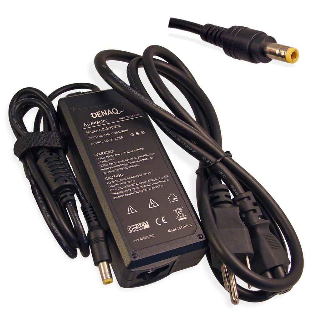 16-Volt 3.36 Amp 5.5 mm-2.5 mm AC Adapter for IBM ThinkPad Series Laptops
