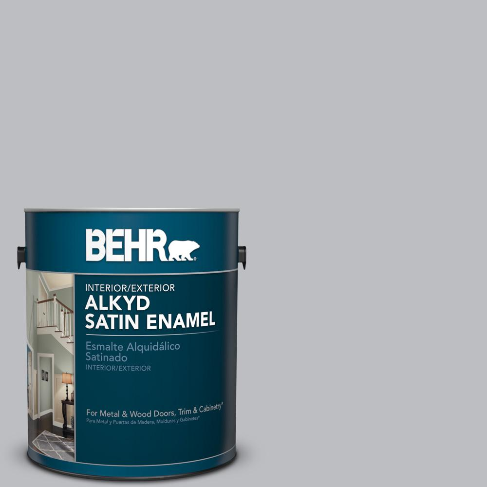 1 gal. #N530-3 High Speed Access Satin Enamel Alkyd Interior/Exterior Paint