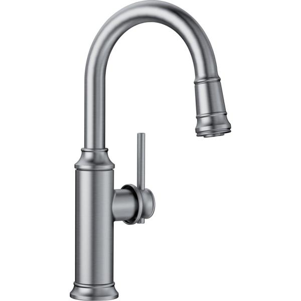 Empressa Single-Handle Bar Faucet in Stainless