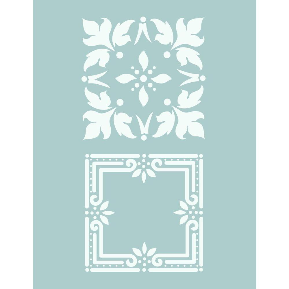 DecoArt 8.5 x 11 in. Tin Ceiling Stencil