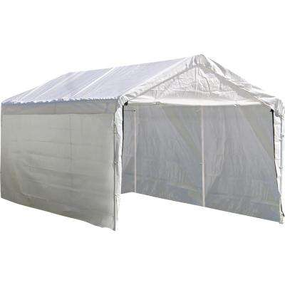 10 ft. D x 20 ft. W SuperMax Enclosure Kit for White Canopy with 100% Waterproof Seams (Canopy and Frame Not Included)