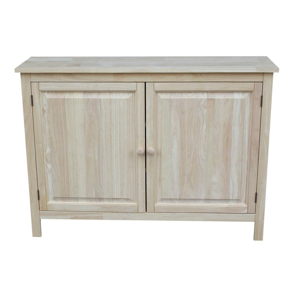 International Concepts Unfinished Storage Cabinet Cu 160 The Home