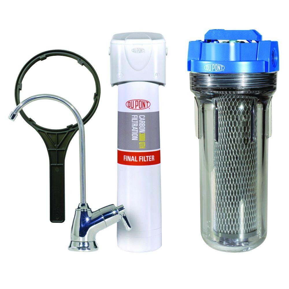 Dupont QuickTwist Whole House Water Filtration System, Wh...