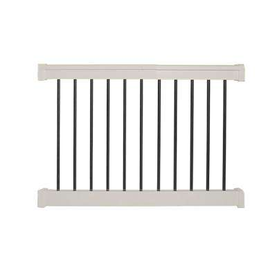Bellaire 3 ft. H x  4 ft. W Tan Vinyl Railing Kit