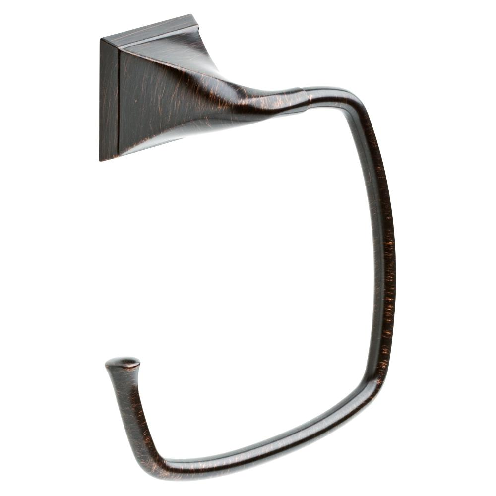 Everly Towel Ring in Venetian Bronze