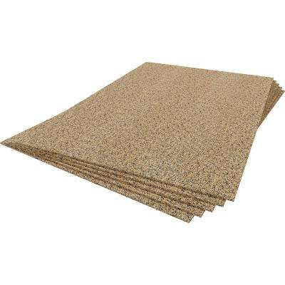 150 sq. ft. 2 ft. Wide x 3 ft. Long x 6 mm Thick Cork Plus Underlayment Sheets (25-Pack)